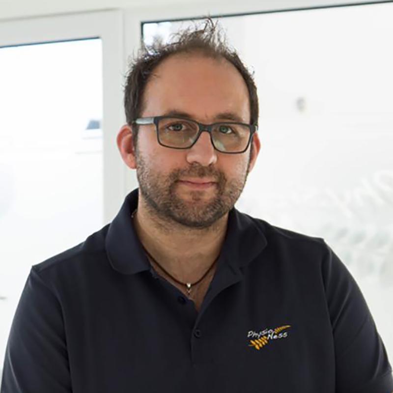 Sascha Ness - Inhaber, Physiotherapeut